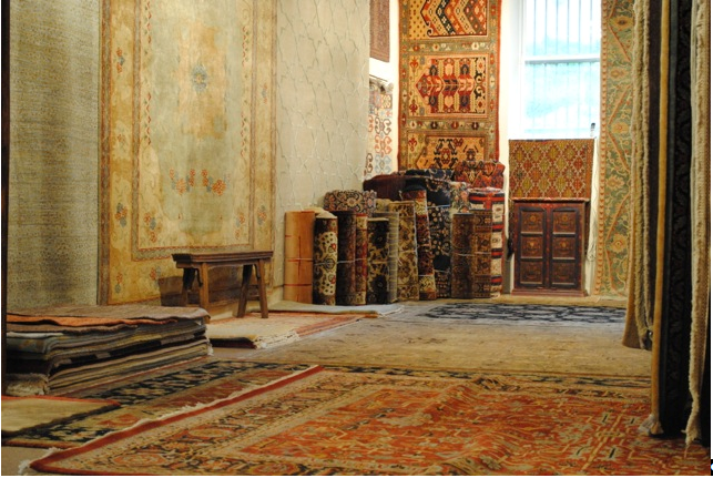 Rug store room